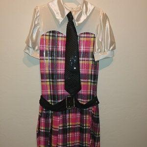 Weissman adult small school girl costume